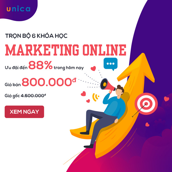 Combo khóa học marketing online
