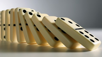 Hiệu ứng Domino và 3 bí quyết ứng dụng Domino vào xây dựng thói quen