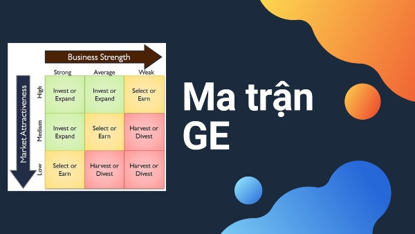 Ma trận GE và những thông tin cơ bản nhất