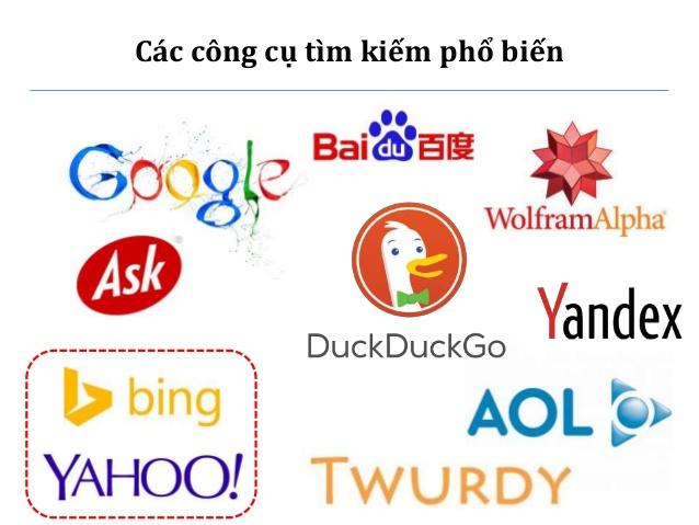 Top 6 các công cụ tìm kiếm hữu ích cho người dùng