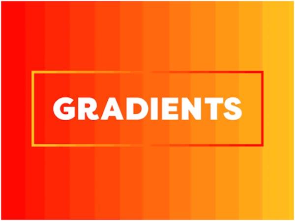 Màu Gradient là gì? Cách tạo màu Gradient trong Photoshop 2020