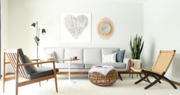 Phong cách Mid Century Modern và ứng dụng vào thiết kế nội thất