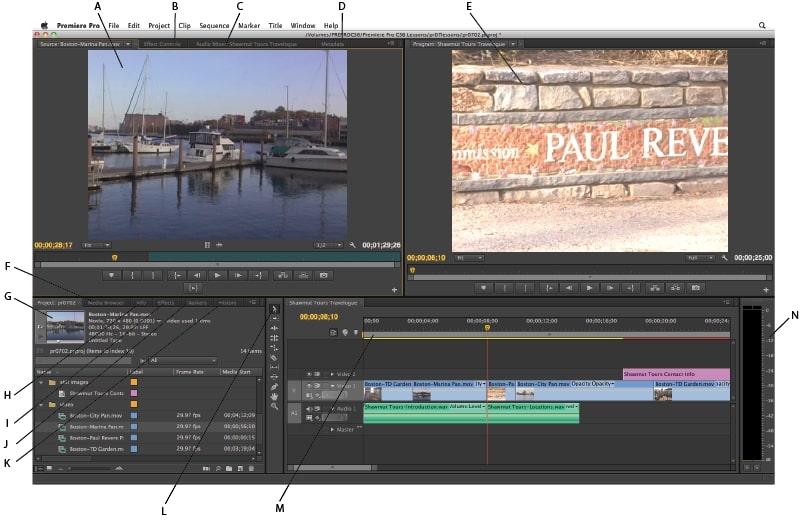 Hướng dẫn sử dụng Adobe Premiere pro CC 2018 cực chi tiết