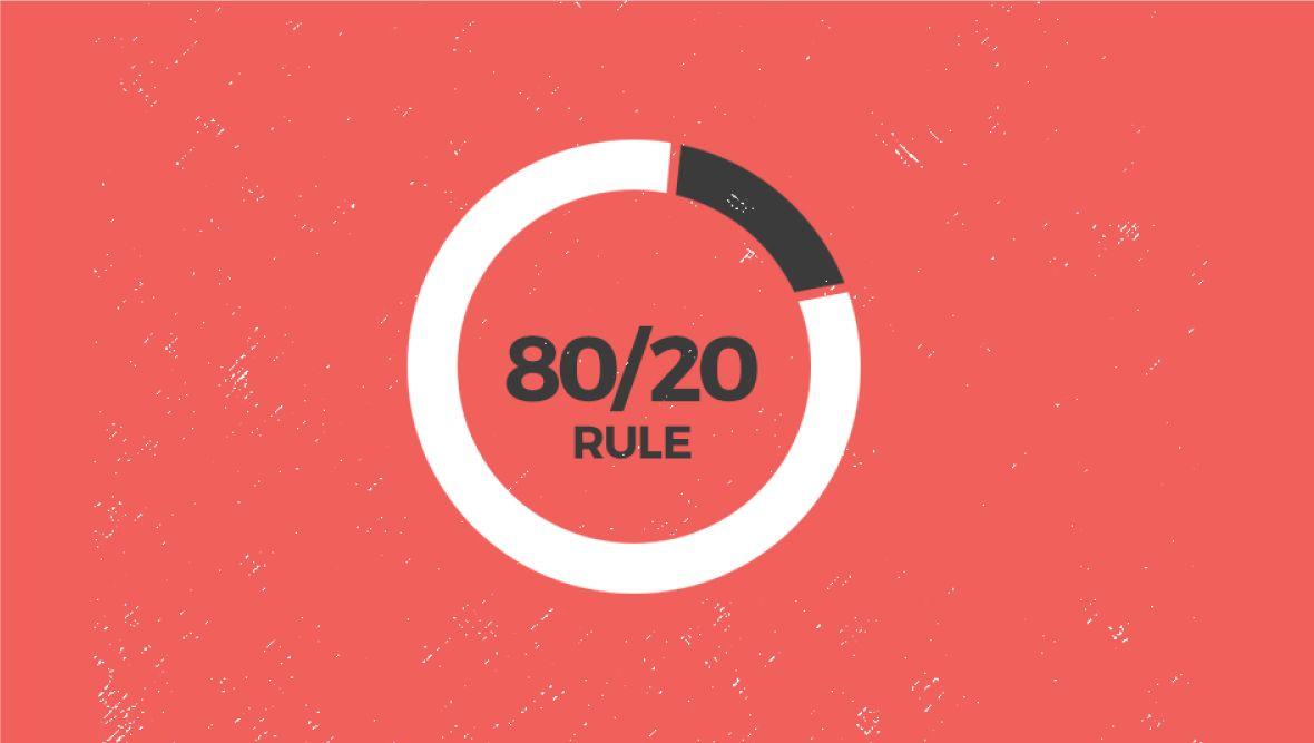 Nguyên lý 80/20 là gì - Ứng dụng nguyên lý 80/20 trong cuộc sống