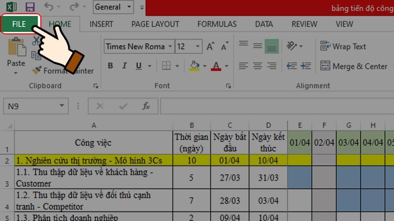 Cách khóa File trong Excel chỉ trong