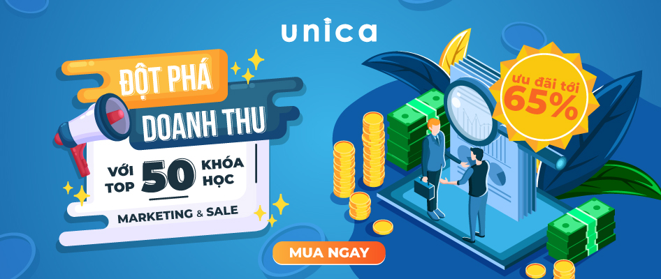 Top 50 khóa học Marketing và Sale