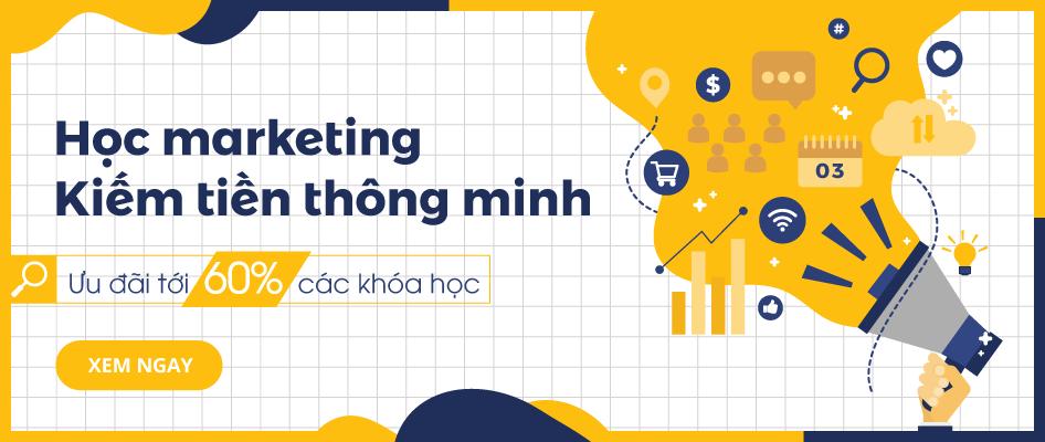 Học marketing kiếm tiền thông minh