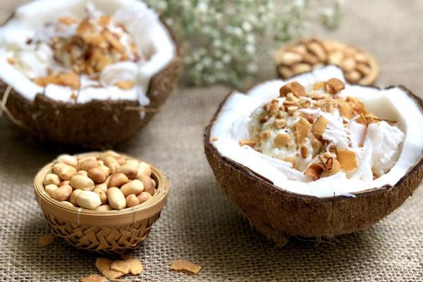 Tiết lộ cách làm kem dừa ngon không thể cưỡng lại