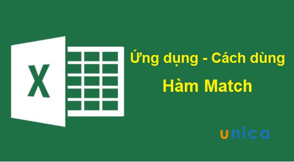 Hàm Match và cách dùng hàm Match trong Excel