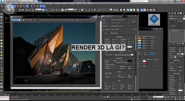Render 3D là gì? Cách thức Render 3D phổ biến hiện nay