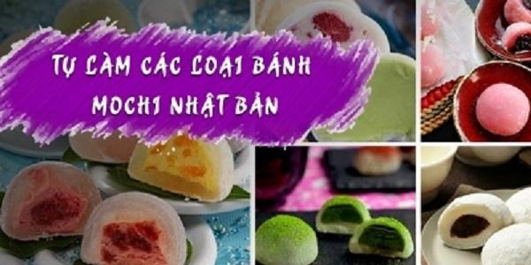 """4 lý do để bạn nên tham gia ngay khóa học """"Tự làm các loại bánh Mochi Nhật Bản"""""""