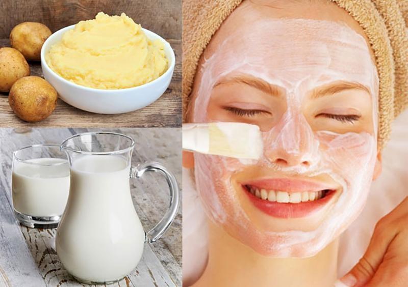 """Cách làm mặt nạ khoai tây mật ong """"thần kỳ"""" cho làn da sạch mụn, trắng hồng tự nhiên"""
