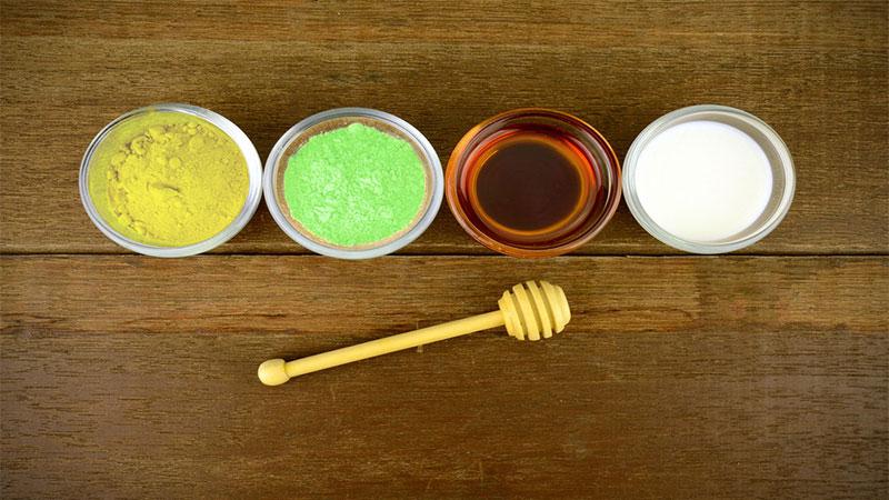 """Mặt nạ trà xanh mật ong - công thức """"kỳ diệu"""" cho làn da sáng mịn, giảm thâm"""