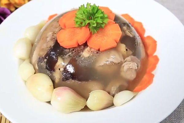 2 cách nấu thịt đông chuẩn vị miền Bắc trong ngày Tết