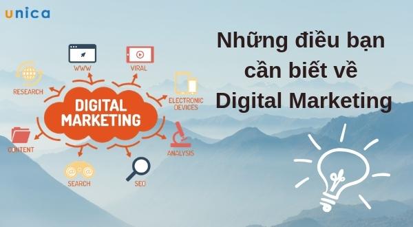 Những điều bạn cần biết về Digital Marketing