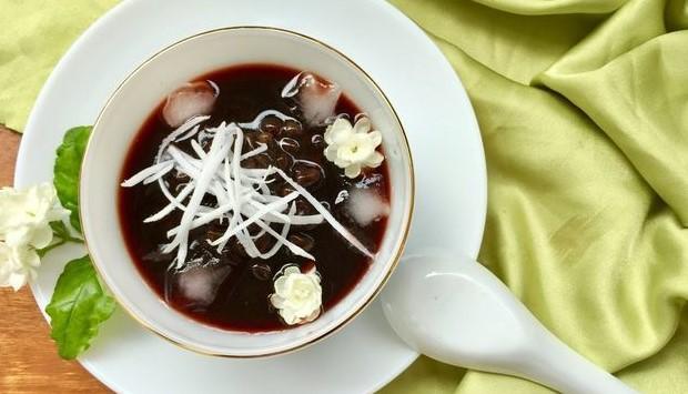 Hướng dẫn cách làm món chè đỗ đen trân châu hạt sen