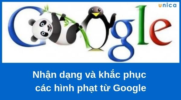 Nhận dạng và khắc phục các hình phạt từ Google