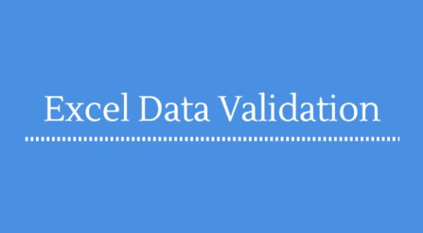 Hướng dẫn chi tiết cách dùng data validation
