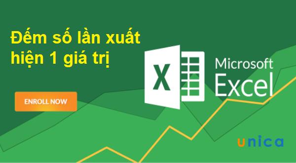 Nhanh chóng đếm số lần xuất hiện một giá trị trong Excel