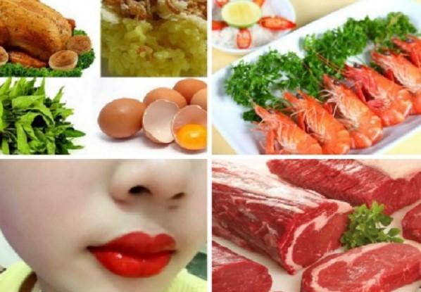 6 loại thực phẩm chị em không thể bỏ qua sau khi xăm môi