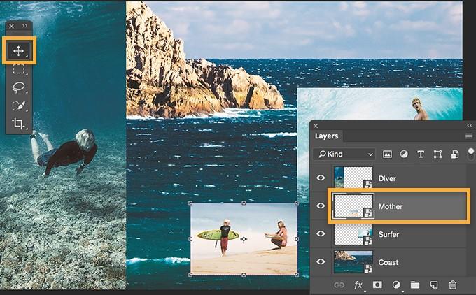 Hướng dẫn cách ghép ảnh trong Photoshop cho người mới bắt đầu