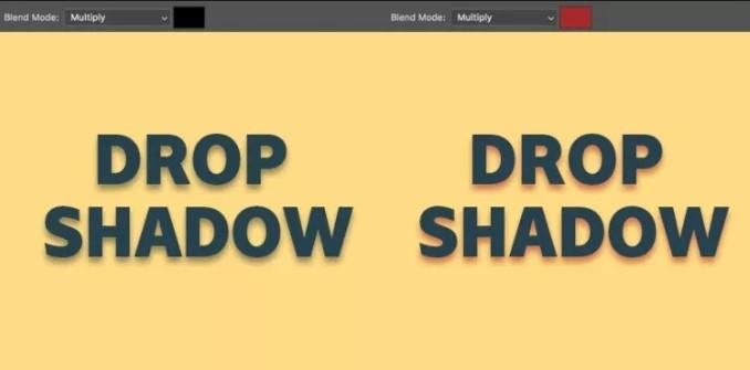 Cùng tìm hiểu về Drop Shadow trong Photoshop