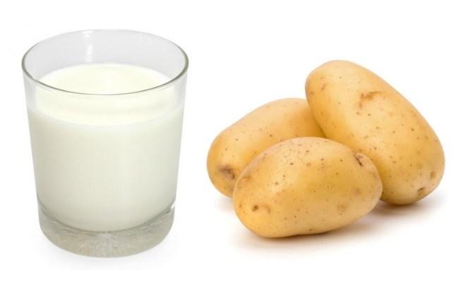 Cách đắp mặt nạ khoai tây sữa tươi cho làn da mềm mịn, trắng hồng tự nhiên