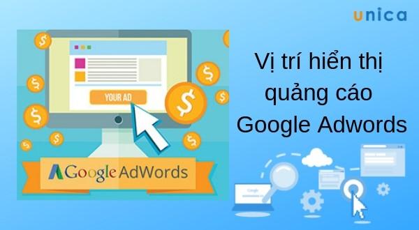 Vị trí hiển thị quảng cáo Google Adwords - Update 2019