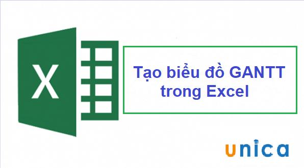 Tạo biểu đồ Gantt đơn giản trong Excel