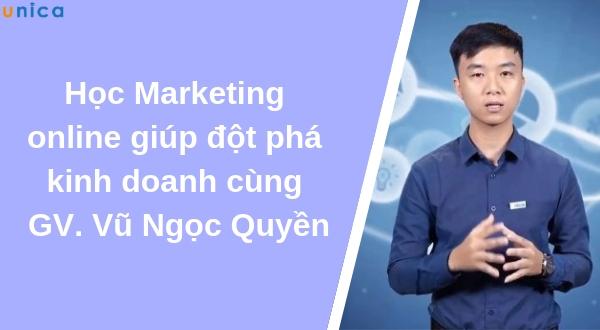 Kinh doanh đột phá với khóa học Marketing online cực chất