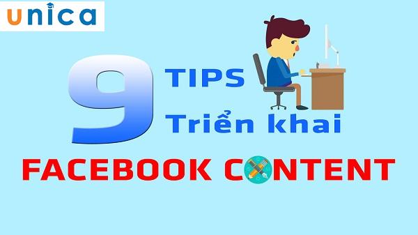 9 TIPS Triển Khai Facebook Content