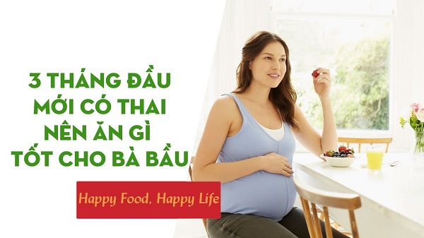 Bà bầu nên kiêng ăn gì trong 3 tháng đầu của thai kỳ