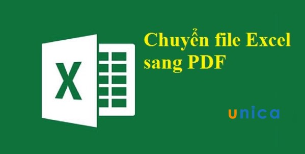 Cách chuyển file excel sang pdf nhanh chóng,
