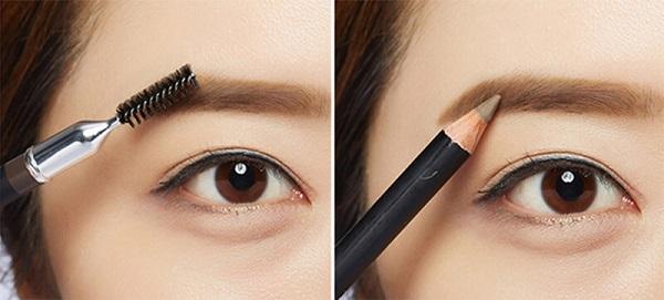 Hướng dẫn cách vẽ lông mày bằng bút chì đẹp tự nhiên