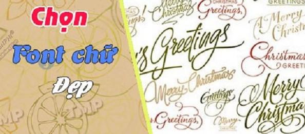 Cách lựa chọn Font chữ đẹp trong Photoshop