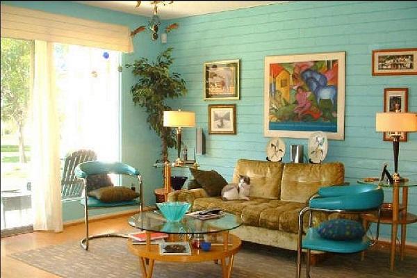 Đặc trưng của phong cách Retro trong thiết kế nội thất