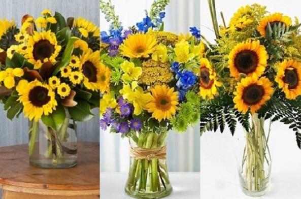 Hướng dẫn cách cắm hoa hướng dương tuyệt đẹp cho không gian ngày Tết thêm rực rỡ