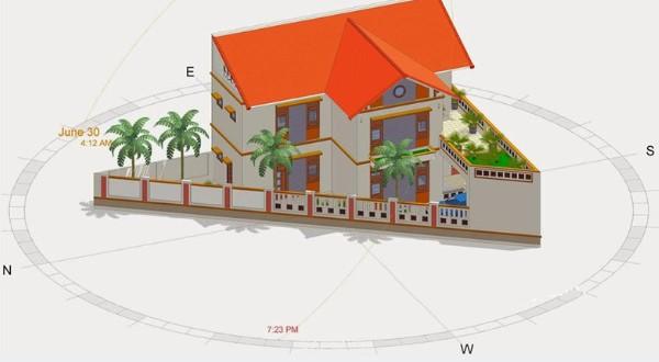 Hướng dẫn chi tiết cách sử dụng la bàn phong thủy đo hướng nhà chính xác nhất