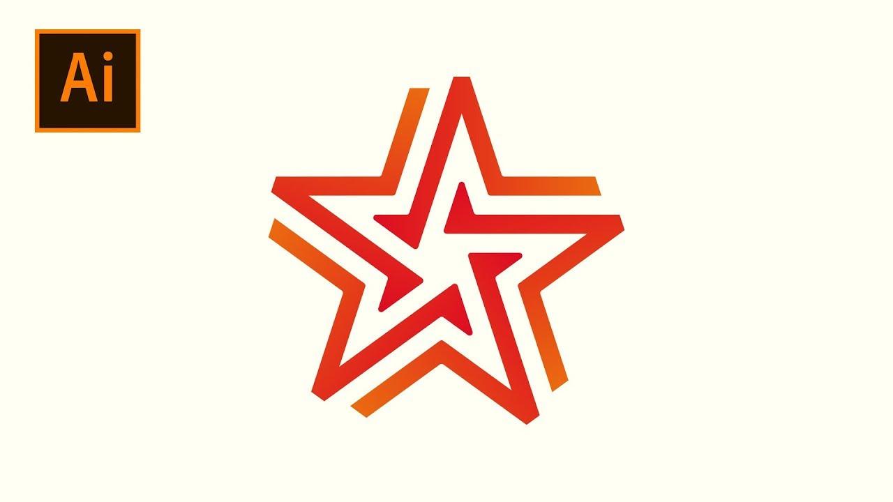 Bật mí cho bạn cách vẽ ngôi sao trong Illustrator