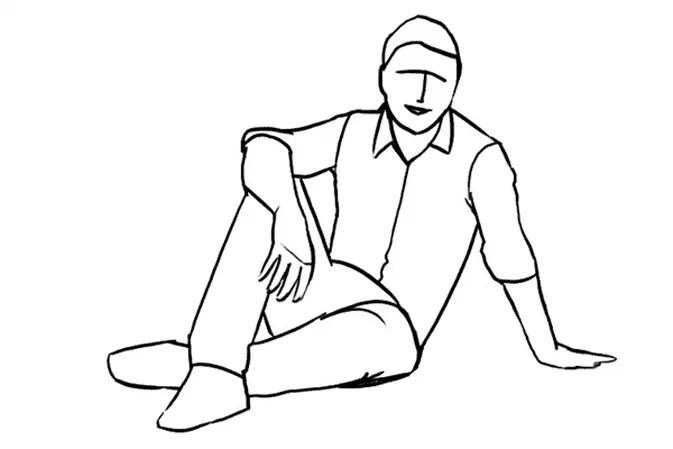 """Bật mí cách vẽ dáng người ngồi """"chuẩn"""" nhất cho """"gà mờ"""""""