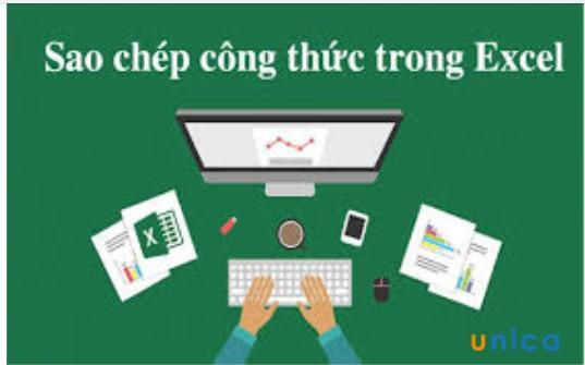 Cách copy công thức trong Excel theo ý muốn