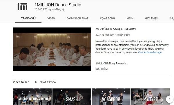 Bật mí 7 kênh Youtube dạy nhảy hiện đại mà bạn không nên bỏ qua