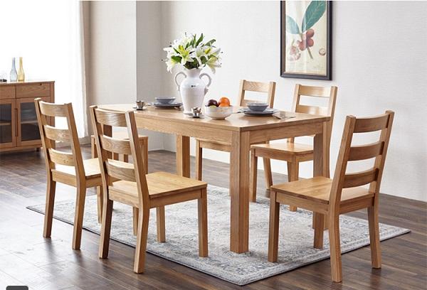 Kích thước bàn ăn 6 người đúng chuẩn là bao nhiêu?