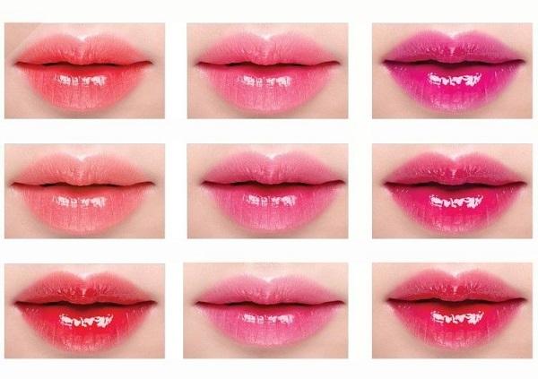 Bảng màu phun môi và cách lựa chọn màu phun phù hợp với bạn