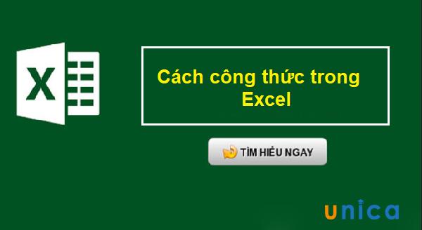 20 công thức cơ bản nhất cần nằm lòng trong Excel bạn nên nhớ