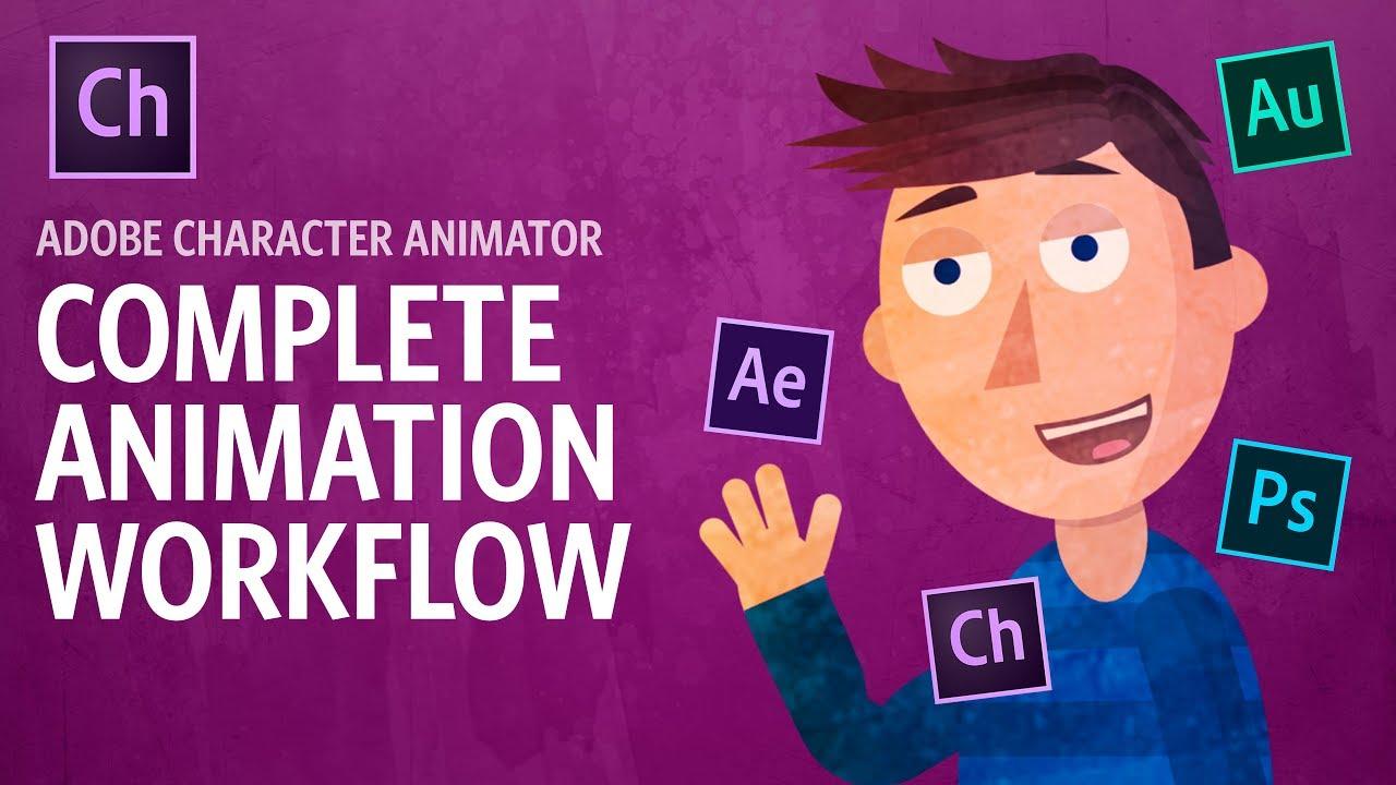 Character Animator CC 2019 - Phần mềm thiết kế nhân vật hoạt hình đỉnh cao