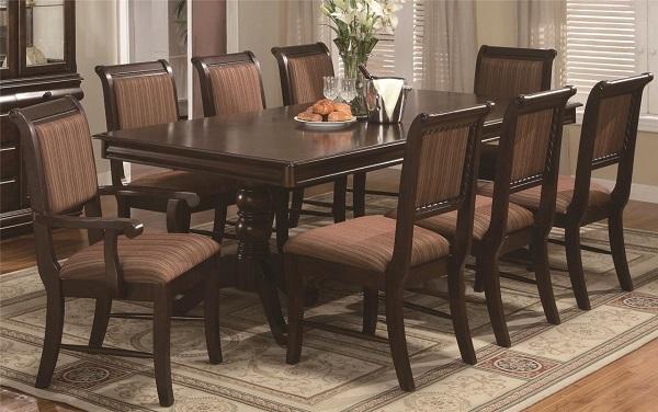 Bật mí kích thước bàn ăn 8 người thông dụng hiện nay