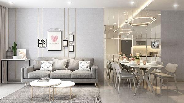Các đặc điểm của phong cách hiện đại trong thiết kế nội thất nhà ở
