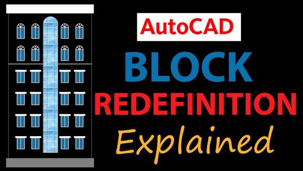 Tổng hợp các thao tác cơ bản trên block reference trong Cad