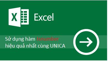 Hàm Isnumber và các cách dùng Isnumber trong Excel